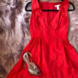 Dresses & Skirts - Ming Red dress with POCKETS